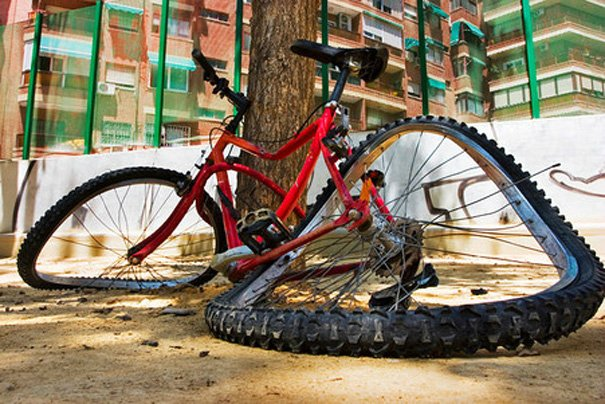 Наказание за сбитого велосипедиста